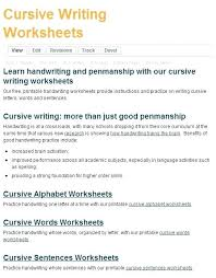 Cursive Letters A Z Free Printable Worksheets Create Writing