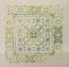 Pdf Warp Speed Back Stitch Pattern Instant Download Cross Stitch Pattern Back Stitch Only Chart Choose Your Own Colors
