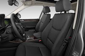 2017 bmw x3 sdrive28i sport utility front seats
