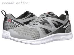 reebok running shoes men. men\u0027s reebok run supreme 2.0 mt running shoes - flat grey/black/white men