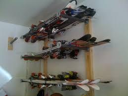 garage ski rack suggestions for wall mounting ski rack diy garage ski storage rack