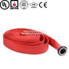 cotton canvas fire hydrant water hose
