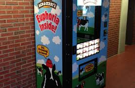 Ben And Jerry's Vending Machine Mesmerizing Forgot Something Airport Vending Machines Can Help SmarterTravel