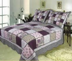 Buy Sugar Plum handmade quilt with bold patchwork design king size ... & Sugar Plum handmade quilt with bold patchwork design king size Brand  Elegant Decor Adamdwight.com