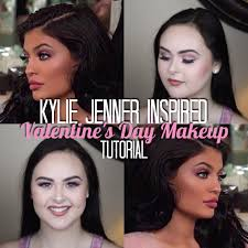 kylie jenner inspired valentine s day makeup tutorial 2016