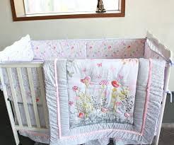 ups free 7 pcs flower cartoon baby bedding set baby cradle crib cot bedding set cunas
