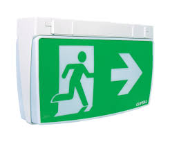 Exit Lights At Lowes Wall Mounted Emergency Light Ceiling Rectangular Led