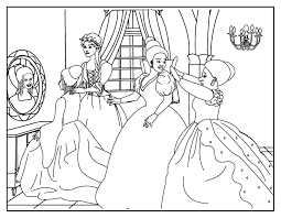 Small Picture Anime Cinderella Colouring Pages With Free Cinderella Coloring
