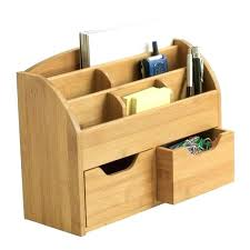 wood organizer tie box diy desk