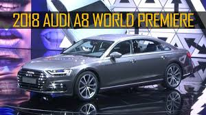 2018 audi 8l. exellent 2018 2018 audi a8 revealed at the summit with host kunal nayyar for audi 8l