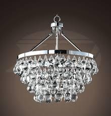 modern style glass crystal 5 light luxury chrome chandelier 19 hx17 5