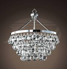 modern style glass crystal 5 light luxury chrome chandelier 19 hx17 5