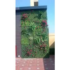 green pvc wall decor artificial grass