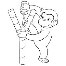15 best curious george coloring pages for your little ones colouring pagescoloring sheetsbook craftsmonkeypicture