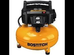 review bostitch 6 gallon pancake air compressor