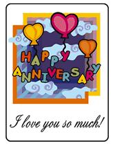 Printable Free Anniversary Cards Happy Anniversary Free Printable Greeting Cards