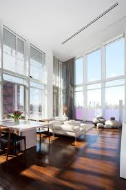 ... Interesting Images Of Various High Ceiling Lighting Ideas For Home  Interior Decoration : Fetching Modern White ...