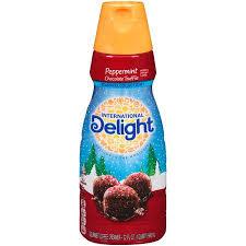 get ations international delight peppermint chocolate truffle liquid coffee creamer 32 fl oz