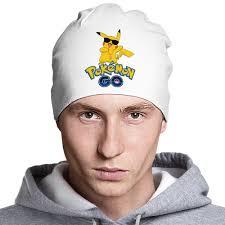 Шапка классическая унисекс <b>Pokemon</b> GO #1546840 в Москве ...