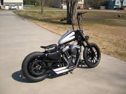 iron 883 winter mods in progress bobber style page 26 the