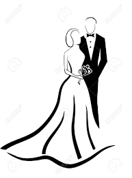Wedding Couple Vector Eps 10 Royalty Free Cliparts Vectors And