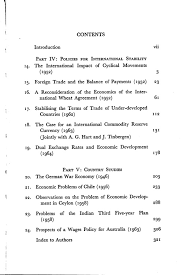 nicholas kaldor s collected economic essays volume 4 contents