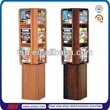 Wooden Book Stand For Display Enchanting Wooden Book Stand For Display Wholesale Retail Shop 32 Side Floor