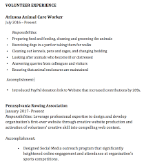 Volunteer Work On Resume Best 6323 How To Include Volunteer Work On Your Resume ResumeViking