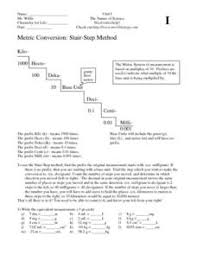 unit conversions worksheet answers si unit conversions lesson plans worksheets reviewed by teachers