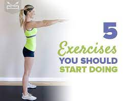 5 basic exercises you can do anywhere