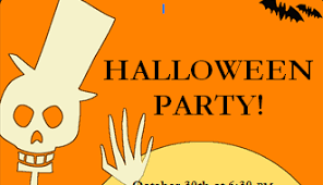 free halloween stationery templates printable halloween party flyer