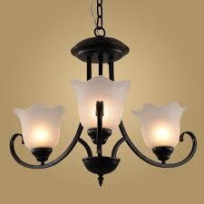 modern retro chandelier for kitchen bedroom hanging antique iron chandelier american style