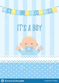 Birthday Boy Banner Design Baby Shower Card Design Vector Illustration Birthday Party