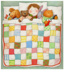 Cozy Quilt / PRINT / Colored Pencil Drawing / от PaulaPertileArt ... & Cozy Quilt / PRINT / Colored Pencil Drawing / от PaulaPertileArt Adamdwight.com