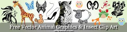 Free Downloads Vector Animal Graphics Insect Clip Art