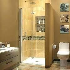 folding glass shower door aqua fold in w x h clear bi hardware accordion doors foldin