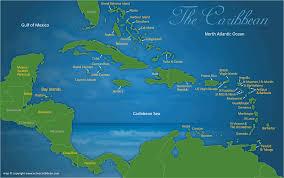 caribbean map of adventures activities  active caribbean