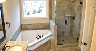 master bath with granite countertops stand up shower with a shelf with small bathroom paint bathtub faucet leaking leaders