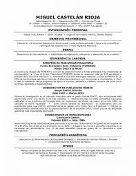 Resume Template In Spanish Zrom Tk Teacher Formato E M Mychjp