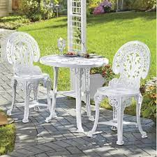 3 piece crown resin bistro set from