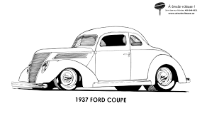 Coloriage Voiture Anglaise