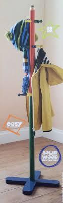 Pencil Coat Rack Impressive New Kids Wooden Pencil Coat Stand Hanger Solid Wood Coat Hangers