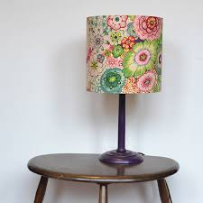 handmade sienna lampshade 25cm