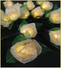 Solar Colorful Flower String 50 LED Fairy Lights Outdoor DecorationSolar Fairy Lights Australia