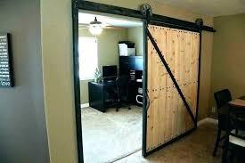 barn door style doors office barn doors glass home office doors barn door style interior in