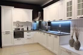 modern white and black kitchens. Modern White \u0026 Black Kitchen W/ Accent Lighting And Kitchens B
