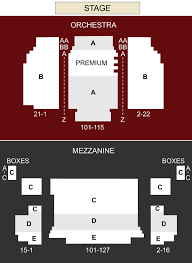 Neil Simon Theater New York Ny Seating Chart Stage