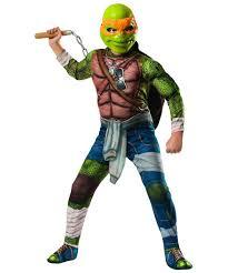 Ninja Turtles Michelangelo Boys Costume ...