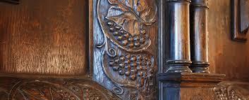 bespoke oak panelling