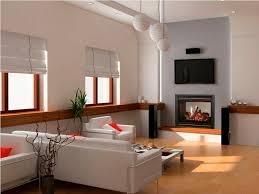 image of double sided electric fireplace and bookshelf
